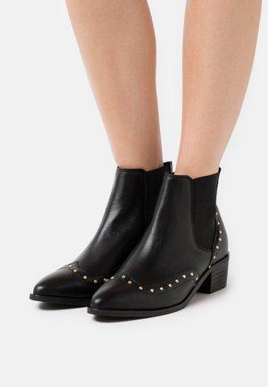 SLFELLEN STUD  - Ankle boots - black