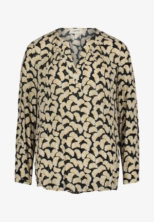 MIT MUSTER - Blouse - black/yellow
