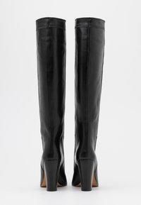 Iro - DJARO - Kozačky na vysokém podpatku - black - 3