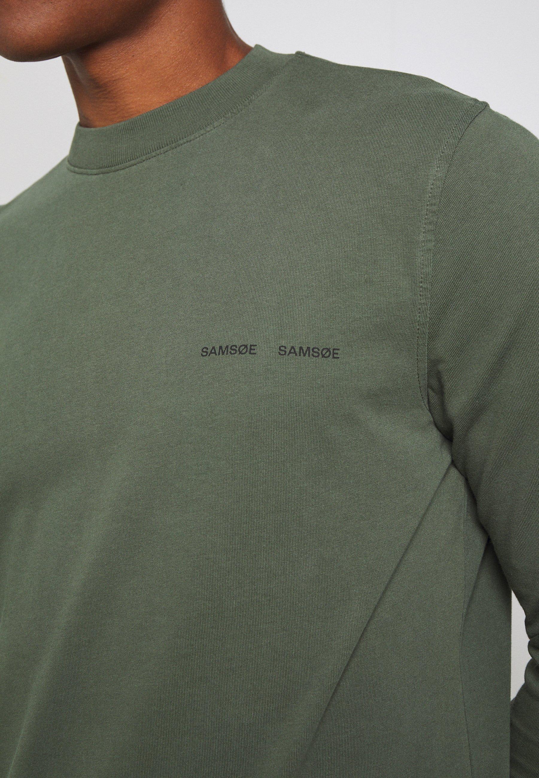 Samsøe Samsøe NORSBRO - Camiseta de manga larga - thyme 3YFdu