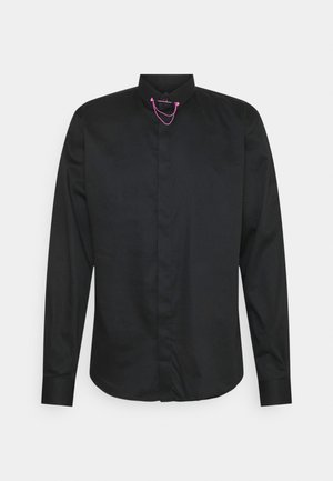 LYNTON - Formal shirt - black