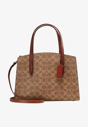 CHARLIE CARRYALL SIGNATURE - Kabelka - rust