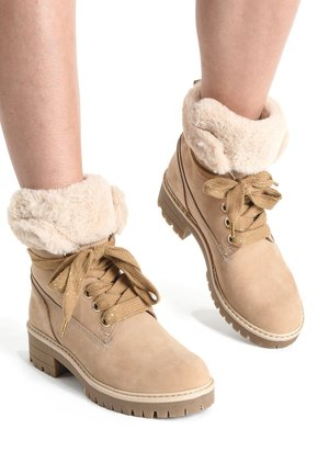 Winter boots - beige bge