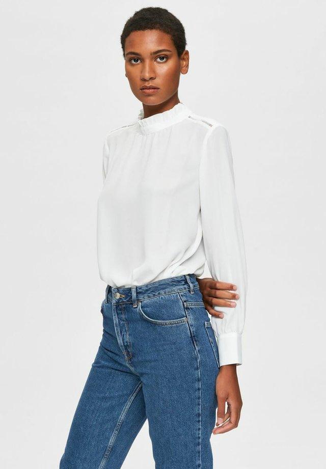SLFCILLA - T-shirt à manches longues - snow white