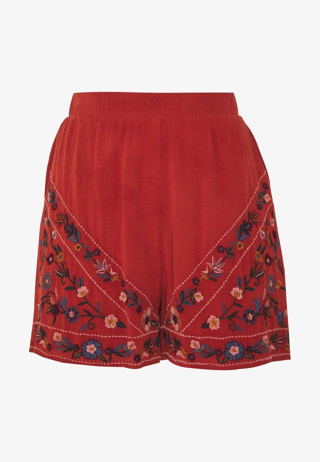 YASCHELLA FEST - Shorts - red ochre