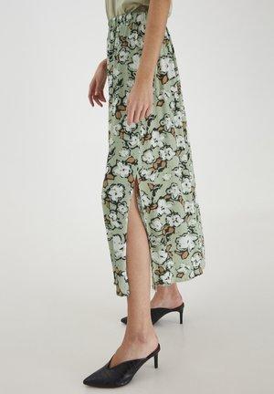 Maxi skirt - swamp