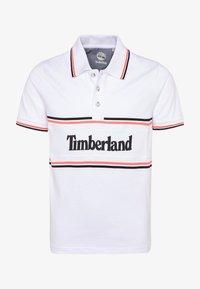 Timberland - SHORT SLEEVE - Polotričko - white - 0