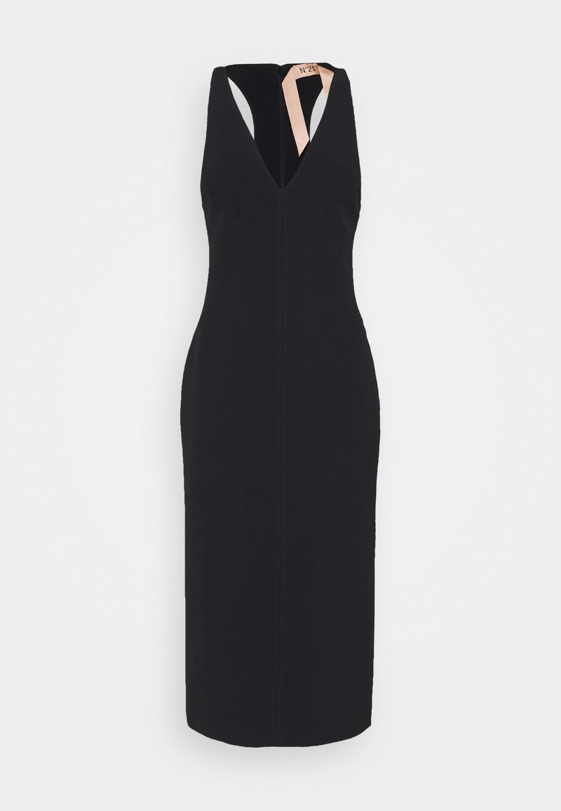 N°21 - V NECK DRESS - Shift dress - nero