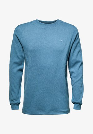 KORPAZ MOCK ROUND NECK - Jumper - onymia blue