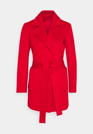 SHORTRUN - Classic coat - red