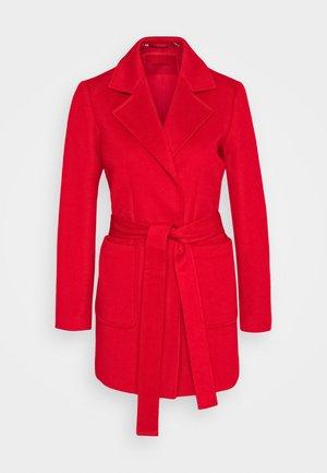 SHORTRUN - Płaszcz wełniany /Płaszcz klasyczny - red
