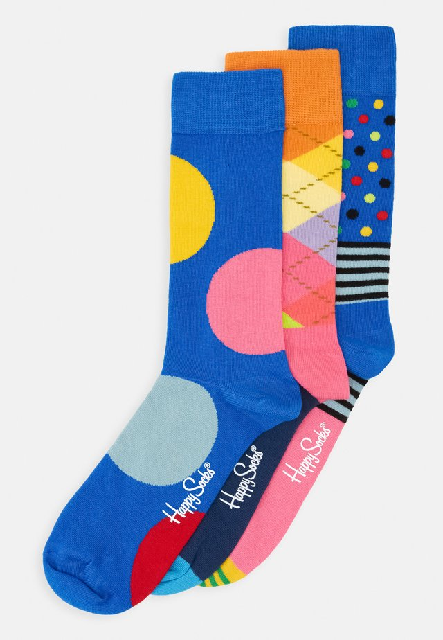 ARGYLE STRIPES AND JUMBO DOT 3 PACK - Sokken - multi