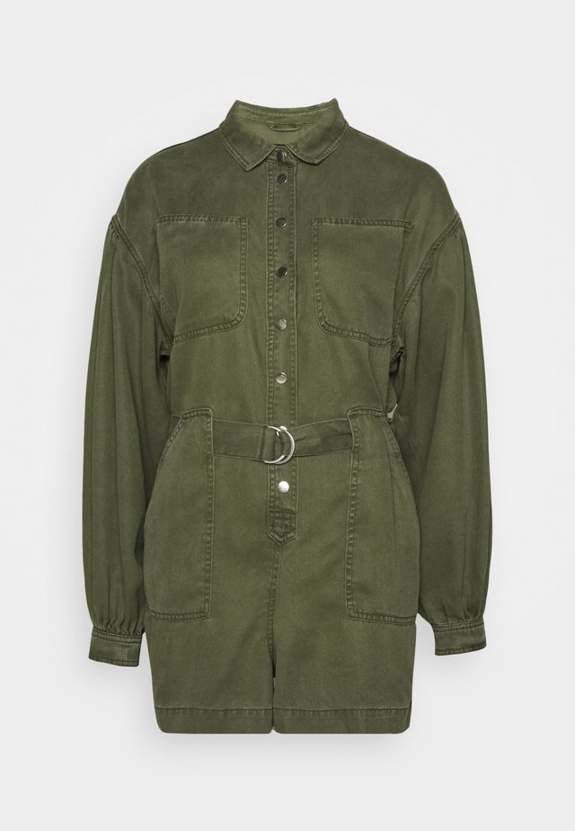 JESS - Overall / Jumpsuit /Buksedragter - khaki green