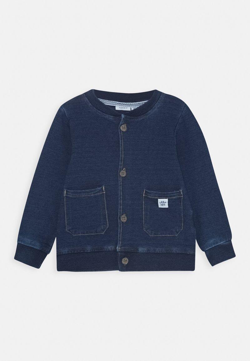 Name it - NBMBATRUEBO JACKET - Denim jacket - dark blue denim