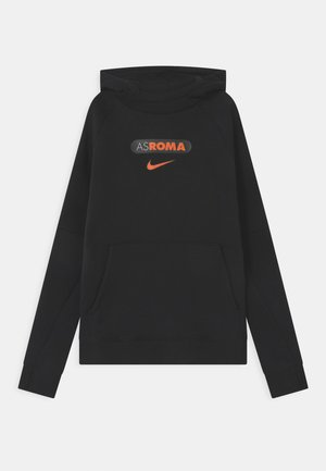 AS ROM HOOD UNISEX - Klubbklær - black/safety orange