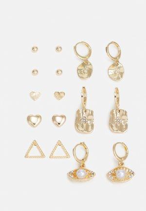 FGCAMILLA EARRINGS 8 PACK - Earrings - gold-coloured