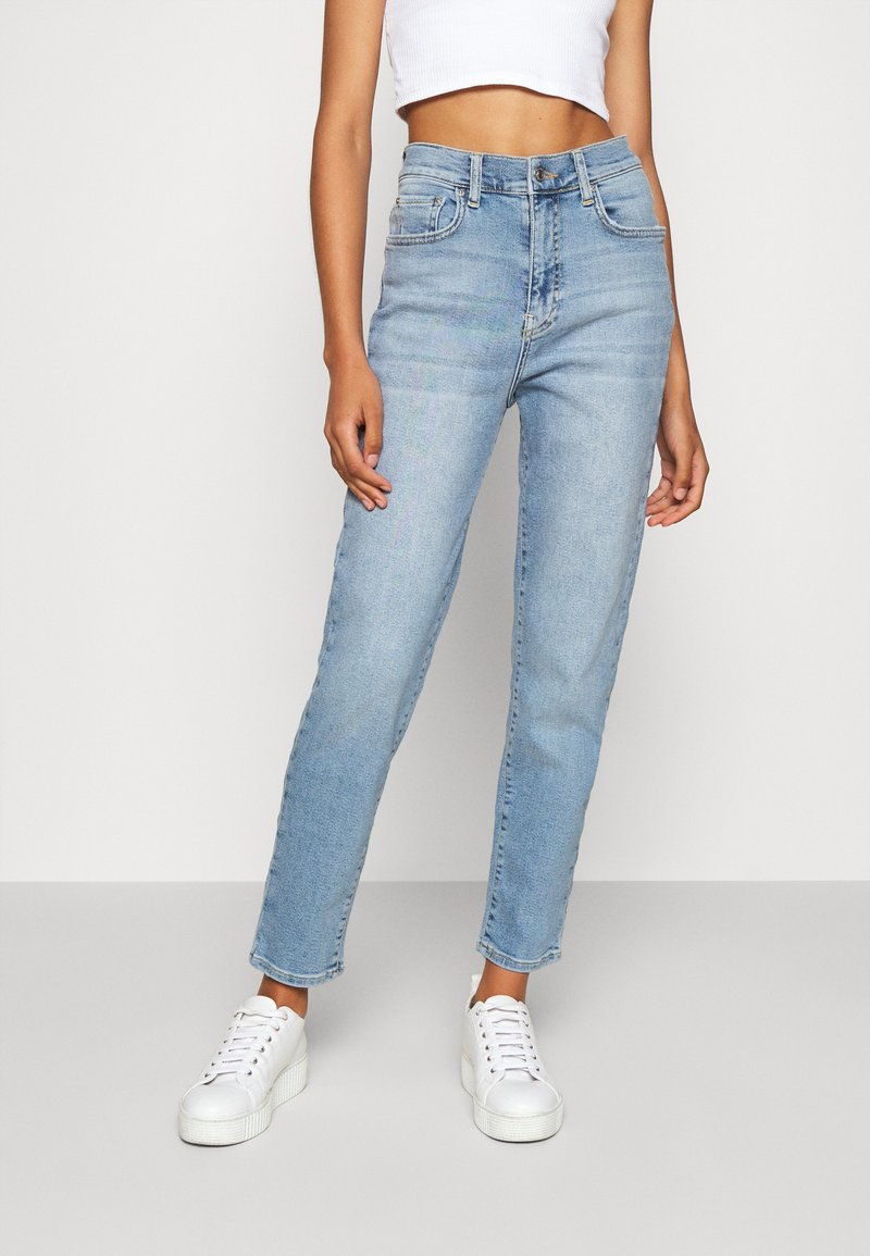 Gina Tricot - COMFY MOM - Relaxed fit jeans - sky blue