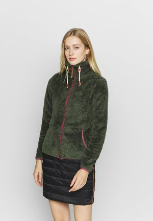 COLONY - Fleece jacket - dark olive