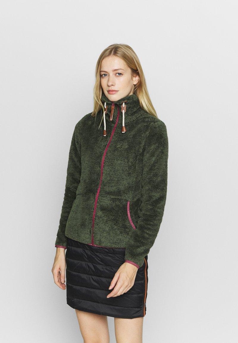 Icepeak - COLONY - Fleece jacket - dark olive