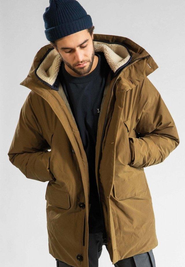 VALDEZ  - Winter coat - sepia brown