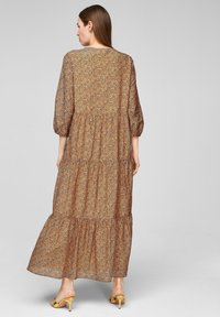 s.Oliver BLACK LABEL - Maxi dress - orange aop - 2