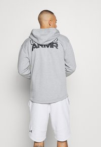 Under Armour - Zip-up hoodie - pitch gray light heather - 2