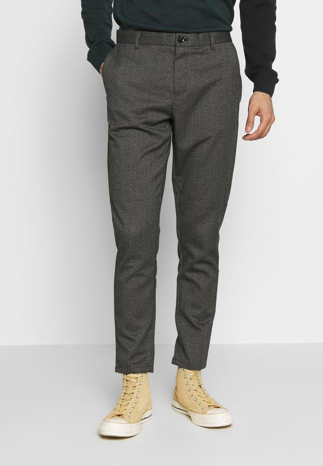 FRANKIE TROUSERS - Pantalon classique - grey melange