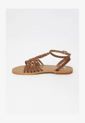 PANAMA - Sandals - camel