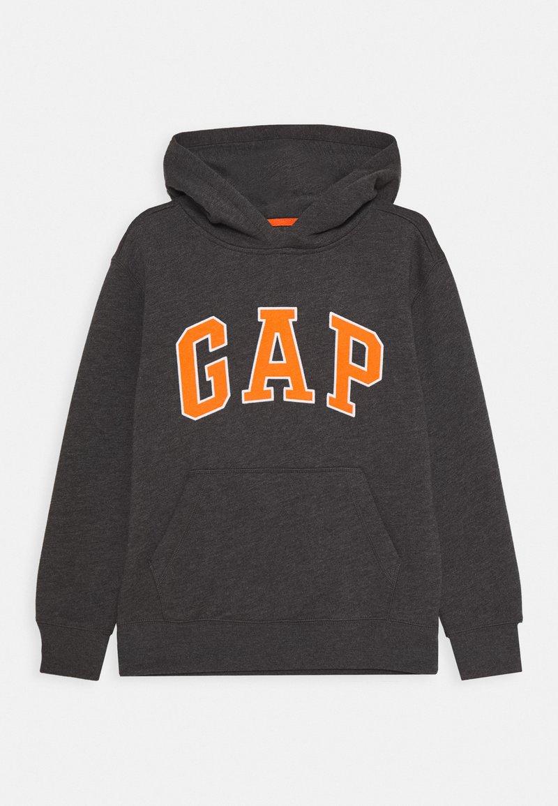 GAP - BOYS NEW CAMPUS LOGO HOOD - Hoodie - charcoal grey