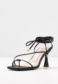 BEBO - RICHIE - Sandaler med høye hæler - black - 4