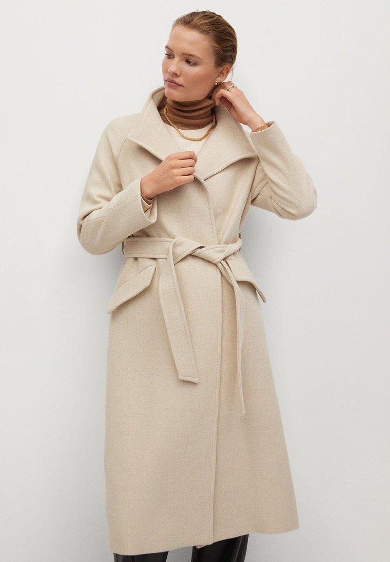 Mango - VENUS - Płaszcz wełniany /Płaszcz klasyczny - ecru