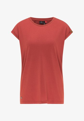 DIONE - Basic T-shirt - chili red