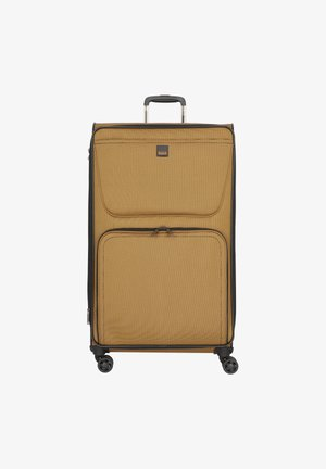 BENDIGO LIGHT 4-ROLLEN - Wheeled suitcase - senf