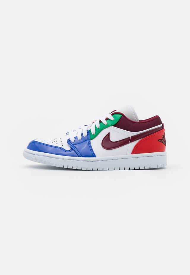 AIR 1 - Sneakers basse - white/dark beetroot/hyper royal/lucky green/university red/black
