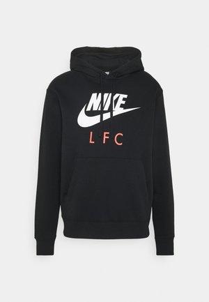 LIVERPOOL FC CLUB HOODIE - Club wear - black/white