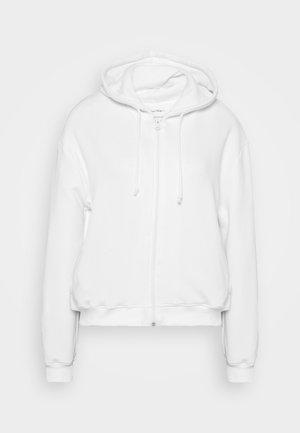 FOBYE - Zip-up hoodie - blanc