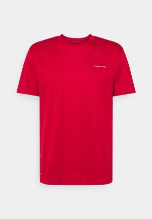 VERNON PERFORMANCE TEE - T-shirt basic - scarlet red