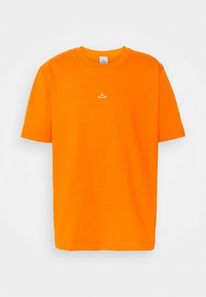 HANGER TEE - Triko spotiskem - orange
