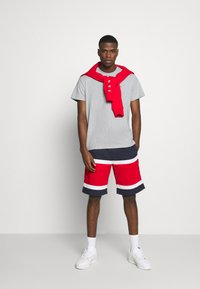 Tommy Jeans - TJM CLASSIC JERSEY C NECK - Basic T-shirt - light grey heather - 1
