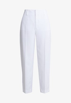 KARLIE TROUSERS - Broek - white