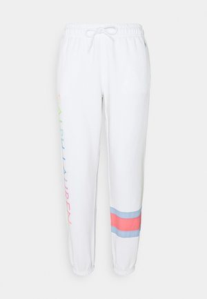 SEASONAL - Tracksuit bottoms - white