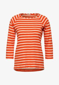 Cecil - MUSTER - Long sleeved top - orange - 3