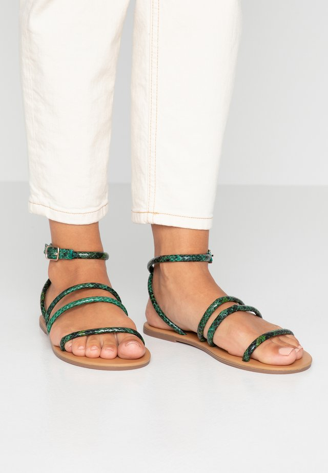 TUBULAR - Sandals - green