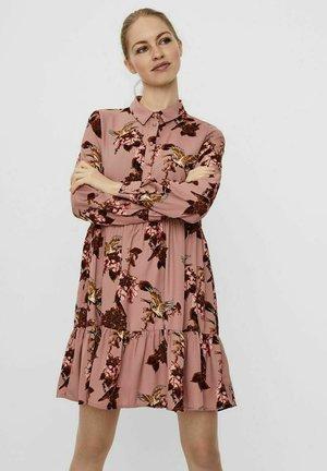 Shirt dress - woodrose