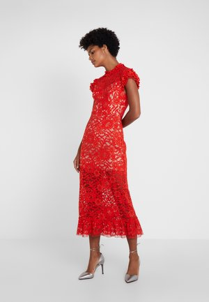 TEAGAN DRESS - Cocktail dress / Party dress - red
