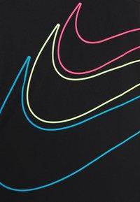 Nike Sportswear - GIRLS KNOT TANK DRESS - Vestito di maglina - black - 3