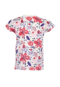 Blue Seven - LIFE IS FLOWERFUL - Print T-shirt - red - 3