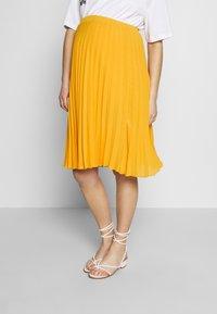Pomkin - CHARLOTTE - Áčková sukně - jaune / yellow gold - 0