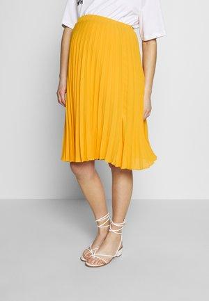 CHARLOTTE - A-lijn rok - jaune / yellow gold