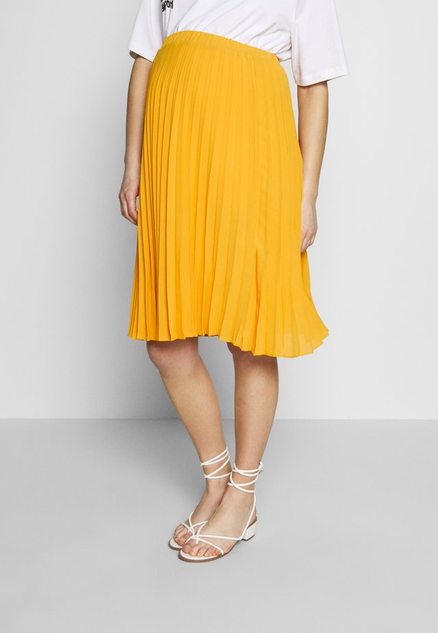 CHARLOTTE - A-line skirt - jaune / yellow gold